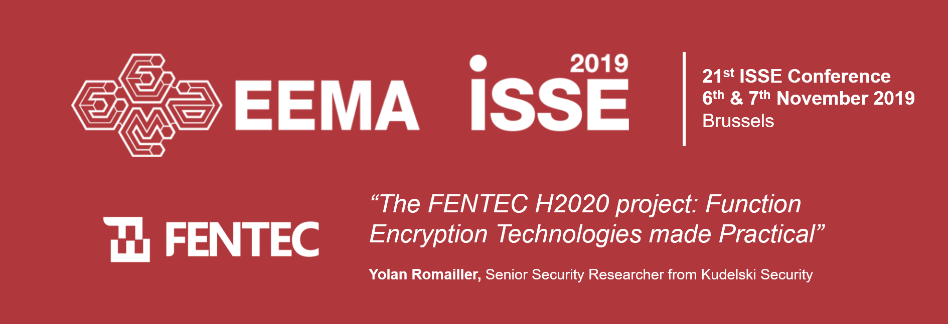 ISSE 2019 Conference
