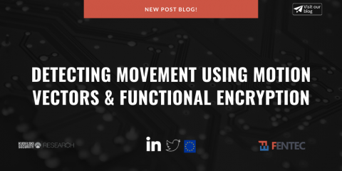 Detecting movement using motion vectors & Functional ENcryption - post blog